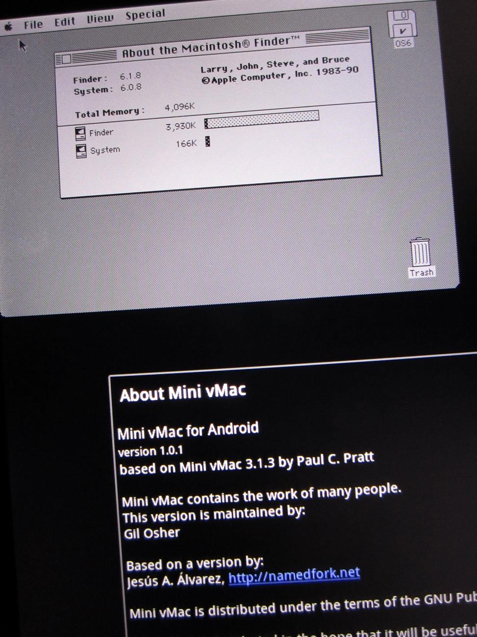 Mini vMac - ASUS Transformer